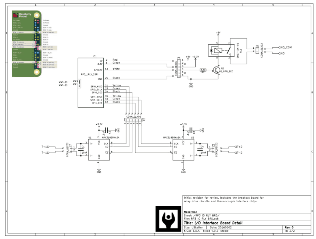 Kiln Controller Internet Of Things Makercise Electric Relay Schematics