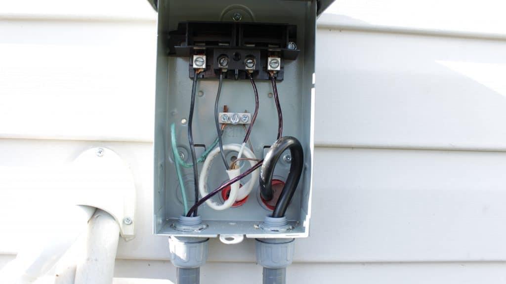 diy mini split ac installation - air conditioning install ... ac breaker box wiring